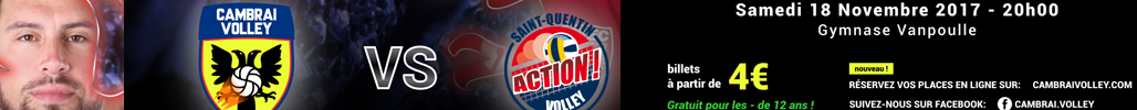 VOLLEY CAMBRAI QUENTIN